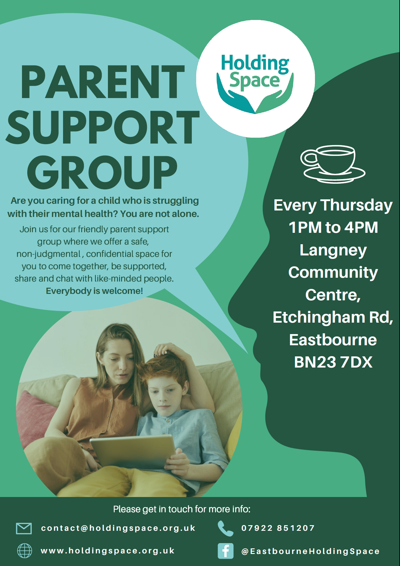 Holding Space – Parent Support Group