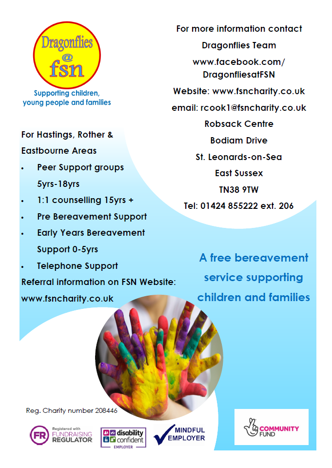 FSN & Dragonflies – Bereavement Support