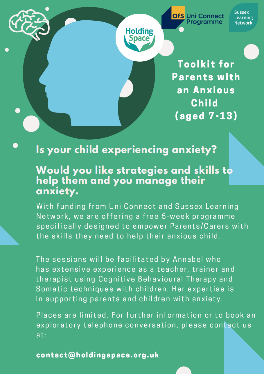 Holding Space – Anxiety Toolkit for Parents