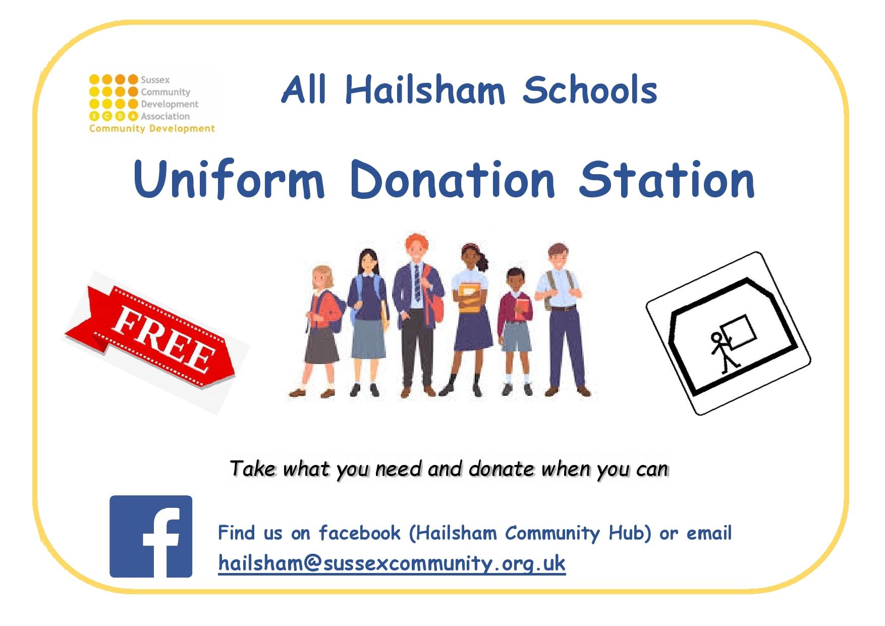 School Uniform Donation Station