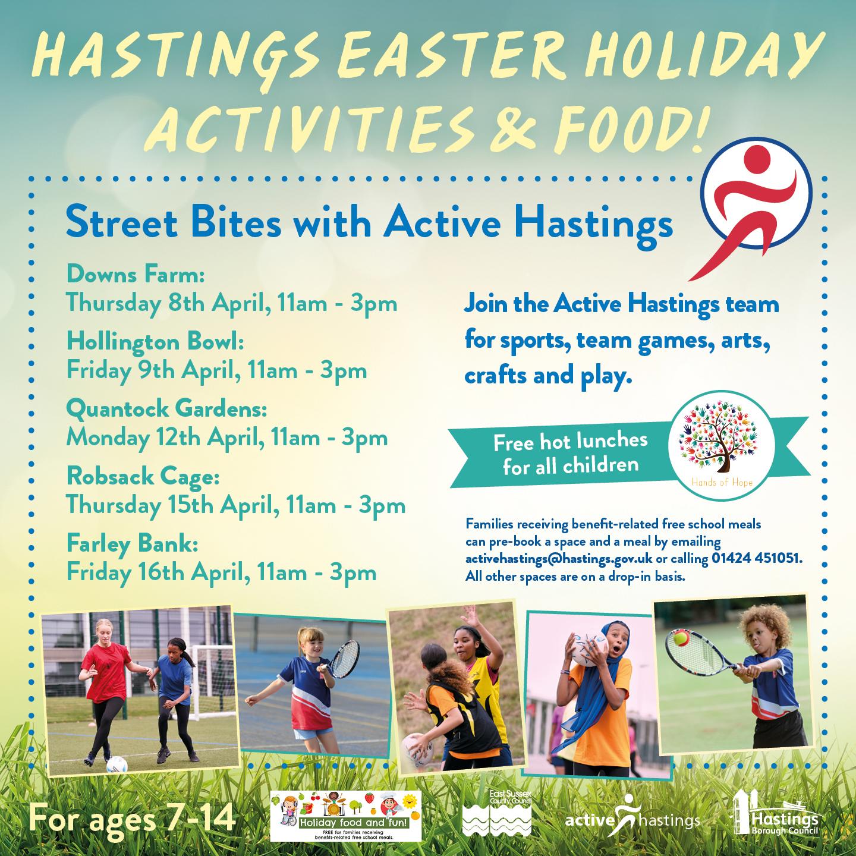 Active Hastings – Street Bites