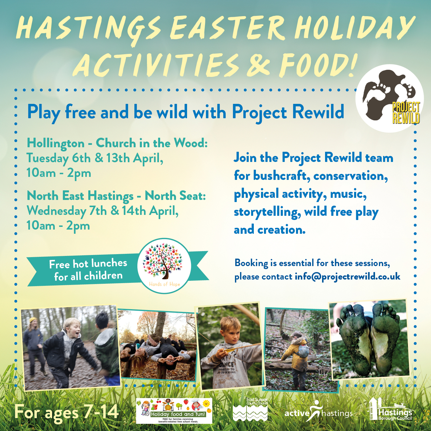 Active Hastings – Project Rewild