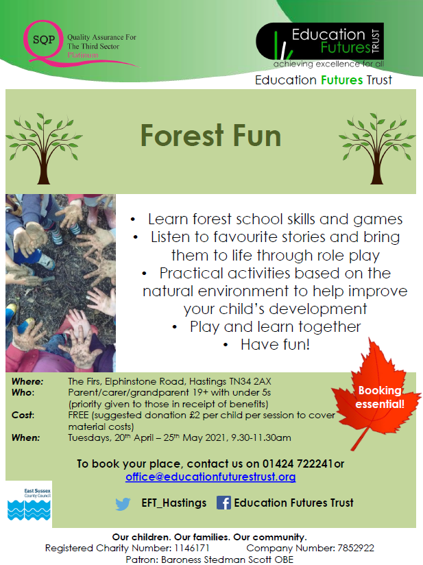 Education Futures Trust – Forest Fun