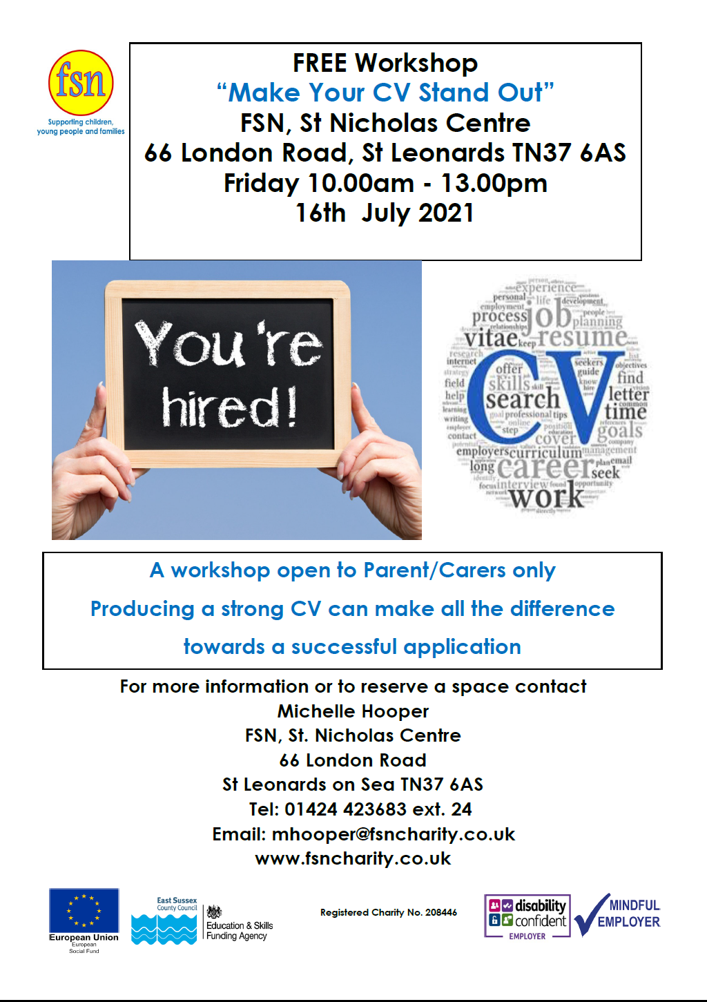 FSN – Make Your CV Stand Out