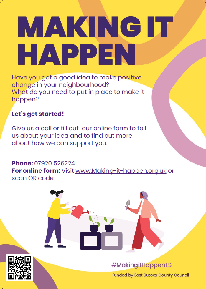 Making It Happen – Getting Support!