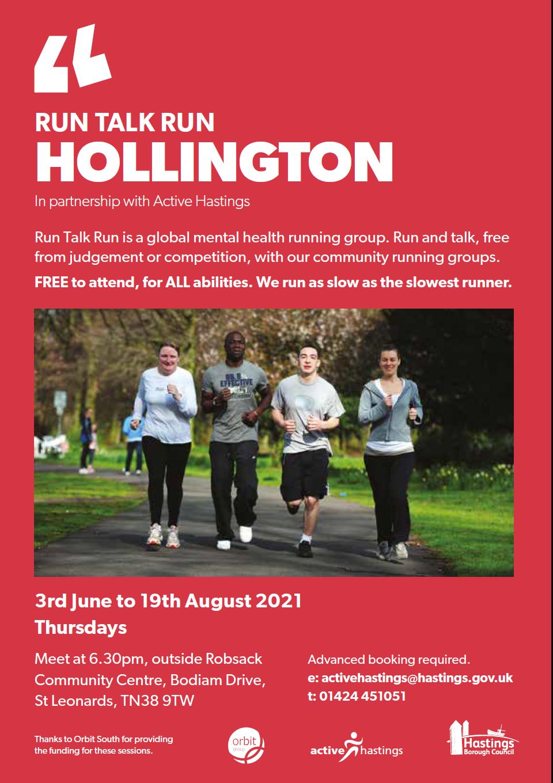 Run Talk Run Hollington