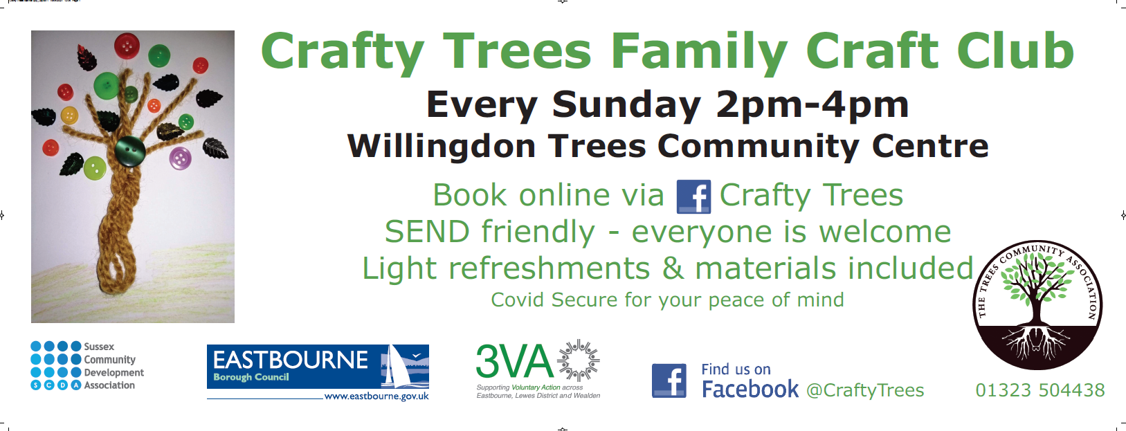Sussex Community Development Association – The Trees Family Craft Club