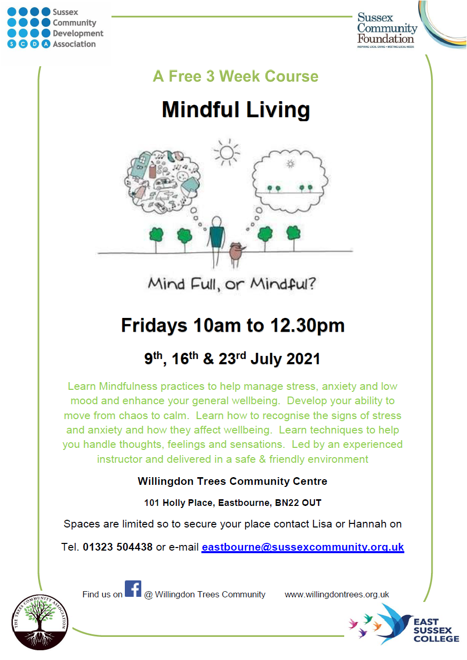 Sussex Community Development Association – Mindful Living